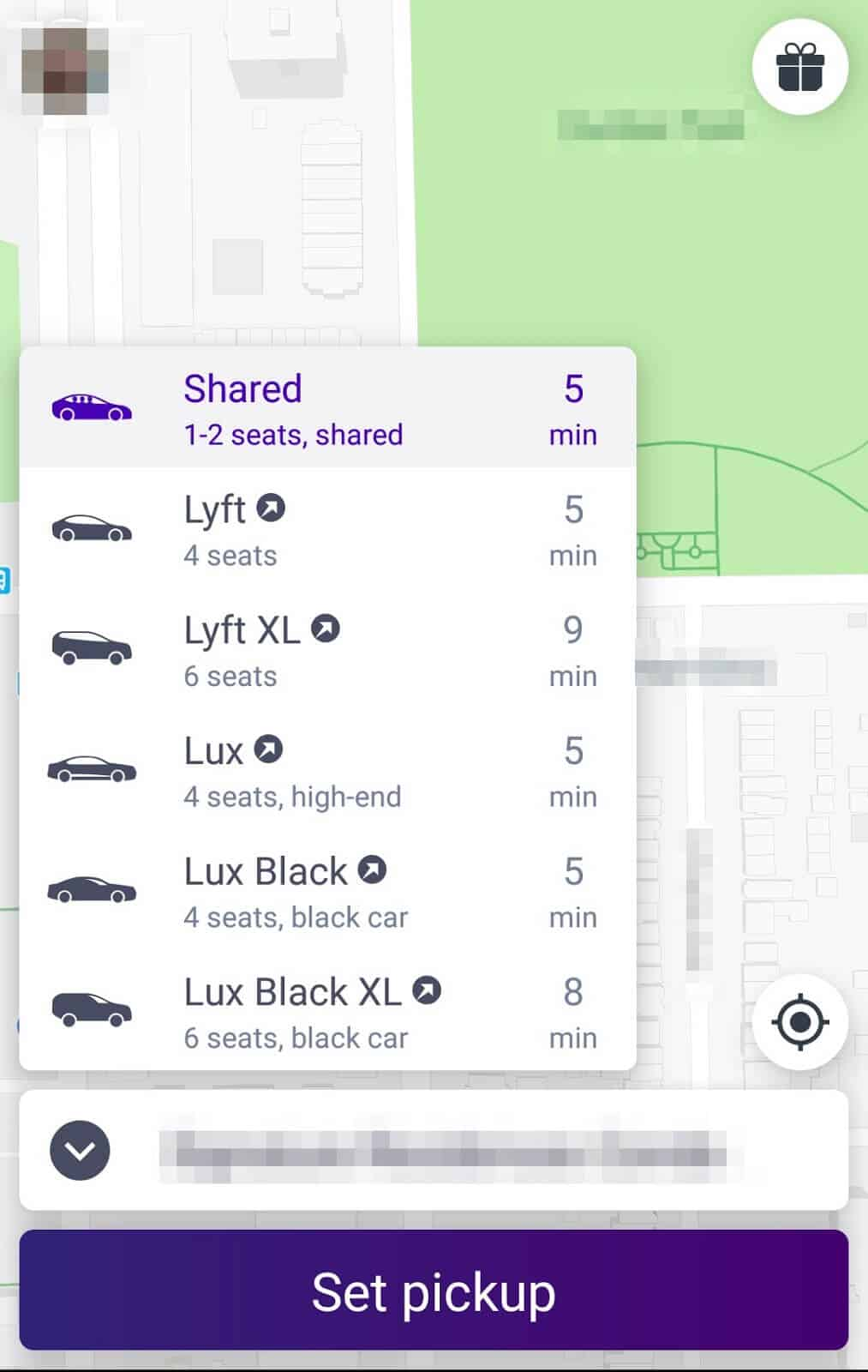 how to request Lyft line 1