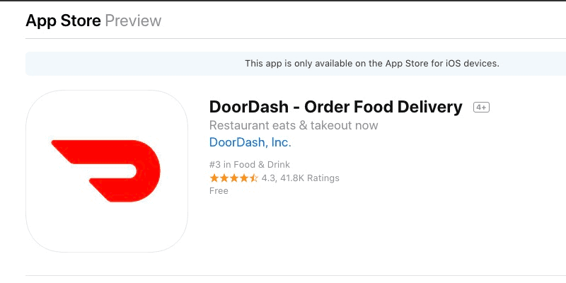 doordash or grubhub