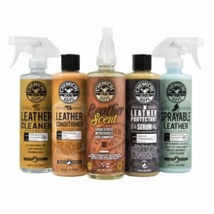 Chemical Guys leather lovers kit